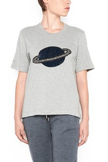 MARKUS LUPFER cotton t-shirt with large sequin planet