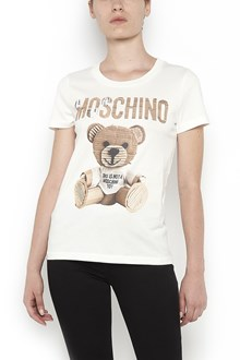 MOSCHINO Cotton t-shirt with logo