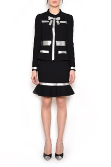MOSCHINO Jacket with silver accents
