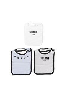 GIVENCHY baby set from Givenchy: cotton three bibs baby set