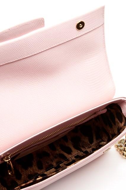 DOLCE & GABBANA leather 'DG millenials' shoulder bag with logo