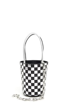ALEXANDER WANG Hand bag in checkboard print