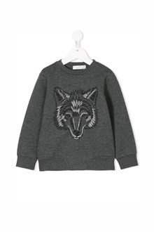 "STELLA MCCARTNEY KIDS ""reeve"" sweatshirt with embroidery fox"