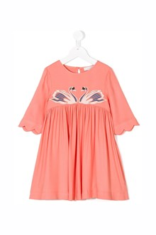 STELLA MCCARTNEY KIDS 'Leonilla' dress with patch