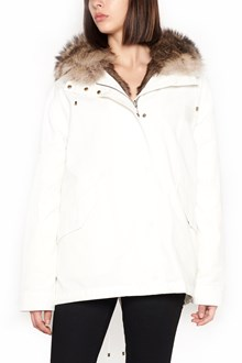 ARMY BY YVES SALOMON reversible short parka with fur and hood