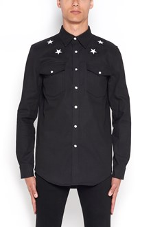 GIVENCHY Stars embroidered shirt