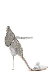 SOPHIA WEBSTER leather 'evangeline' crystal sandals