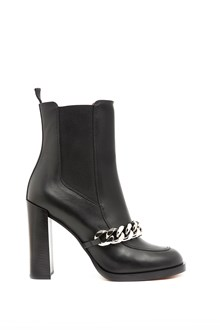 GIVENCHY leather ankle boot with chain