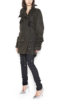 SAINT LAURENT Parka with oversized sleevs
