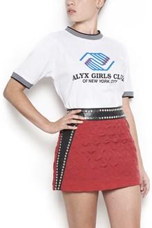 ALYX cotton t-shirt with 'alyx girl club' print