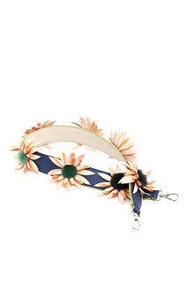 FENDI leather strap with flowers