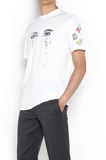 LANVIN T-shirt with 'Eye' print ,collaboration with Cedric Rivrain