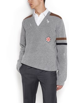 LANVIN 'Destroyed'  pullover with patch