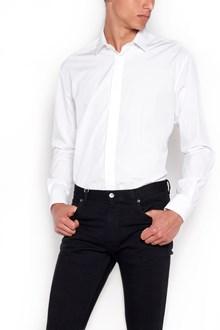 SAINT LAURENT Vintage effect shirt with buttons