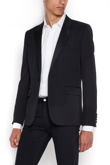 SAINT LAURENT Dress jacket with 2 buttons in wool