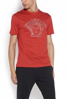 VERSACE 'Medusa' printed t-shirt with Swarovski studs