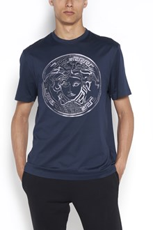 VERSACE 'Medusa' printed t-shirt with studs