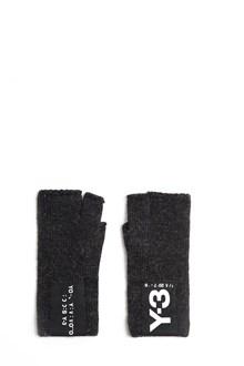 Y-3 Acrylic Badge Gloves