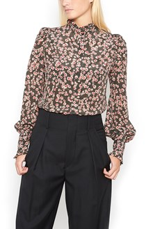 ISABEL MARANT 'solan' silk blouse with flower print