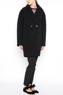 CARVEN Virgin wool double breasted coat