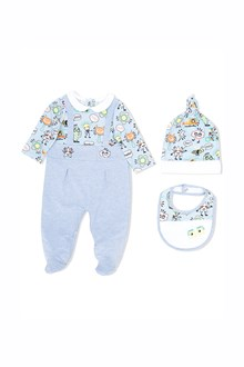 FENDI KIDS Baby kit with prints