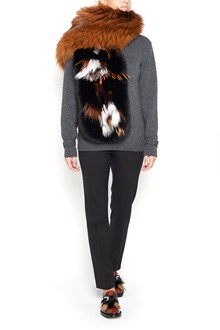 PRADA fox fur scarf