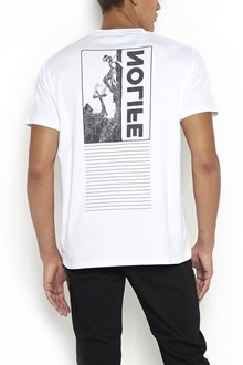 ALYX cotton t-shirt with pocket and 'no life' print