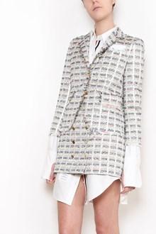 THOM BROWNE Check Tweed Jacket