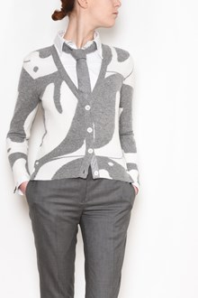 THOM BROWNE Cashemere Cardigan with penguins