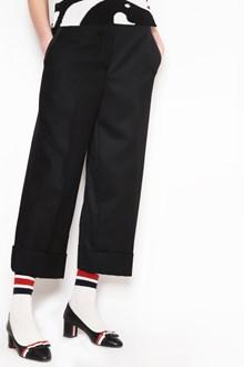 THOM BROWNE Wool Mohair Pants