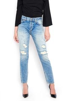 BLEU DE BLEU 'patty' destroyed jeans