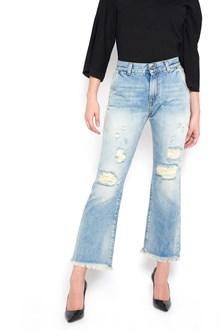 BLEU DE BLEU 'jessy' destroyed jeans