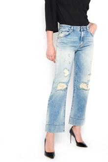 BLEU DE BLEU 'madonna' destroyed jeans