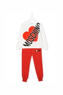 MOSCHINO KID TEEN sweatshirt and tracksuit with logo