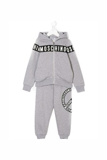 MOSCHINO KID TEEN hoodie and tracksuit set with logo