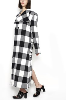 MARQUES ALMEIDA Double-breasted check Coat