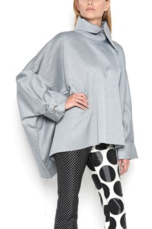 MARQUES ALMEIDA Rectangle Blouse with turtle neck