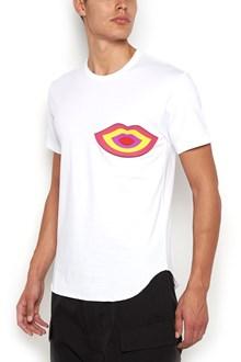 COMME DES GARÇONS HOMME PLUS T-Shirt with 'Mouth' print