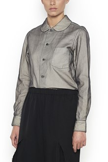 COMME DES GARÇONS Shirt with tulle all over