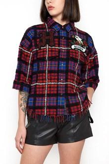 HILFIGER Tartan Shirt with Logo