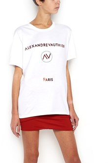 ALEXANDRE VAUTHIER T-Shirt with Logo