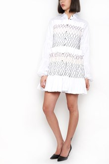 JOURDEN Pleated Cotton Dress