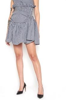JOURDEN Gathered Skirt with ruffles