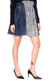 JOURDEN Viscose Pleated Skirt
