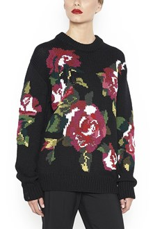 DOLCE & GABBANA Sweater with embroidered Rose