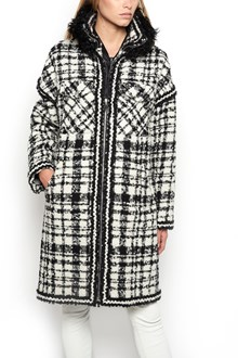 MONCLER GAMME ROUGE Caoat with down jacket inside