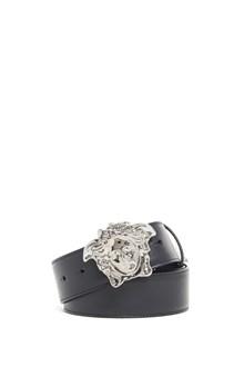VERSACE Leather belt with 'Medusa' buckle