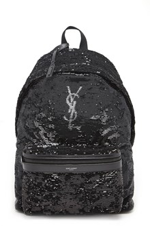 SAINT LAURENT Backpack with sequins