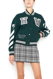 OFF-WHITE 'Varsity' wool Bomber Jacket