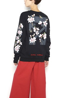 OFF-WHITE Sweatshirt with 'Diag Cherry' Embroidery